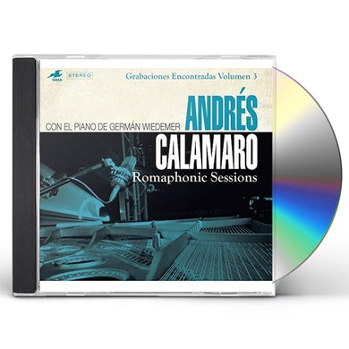 Andres Calamaro ROMAPHONIC SESSIONS CD