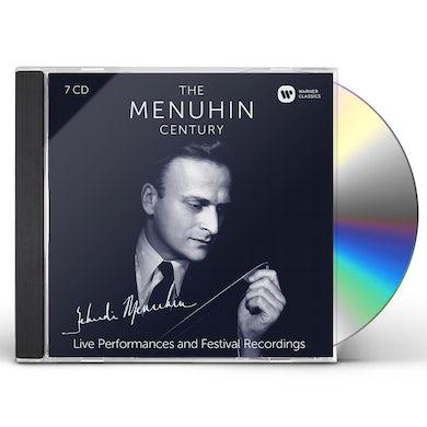 Yehudi Menuhin MENUHIN CENTURY: LIVE PERFORMANCES & FESTIVALS CD