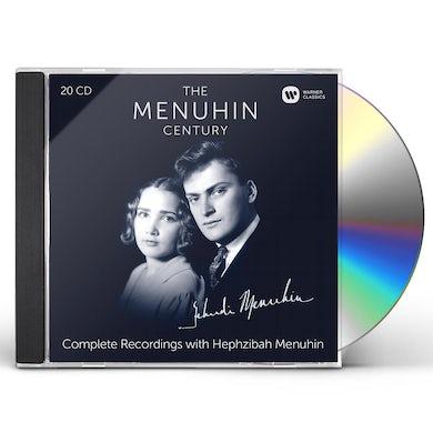 Yehudi Menuhin MENUHIN CENTURY THE COMPLETE RECORDINGS WITH HEPHZ CD