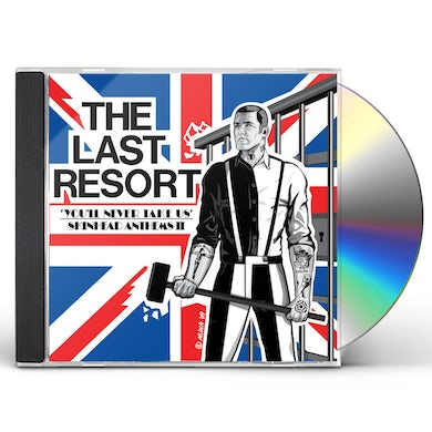 Last Resort YOU'LL NEVER TAKE US CD