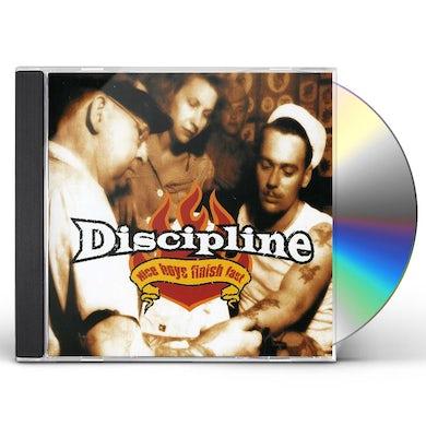 Discipline NICE BOYS FINISH LAST CD