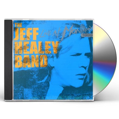 Jeff Healey LIVE AT MONTRENX 1999 CD