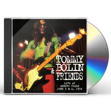 Tommy Bolin LIVE AT EBBETS FIELD JUNE 3 & 4 1974 (MOD) CD