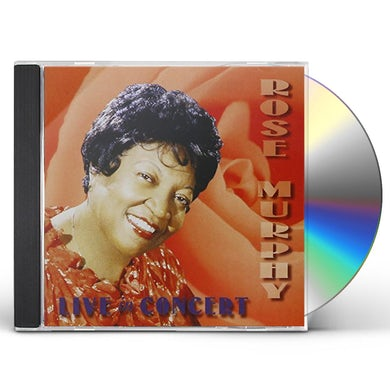 Rose Murphy LIVE IN CONCERT 1962 CD
