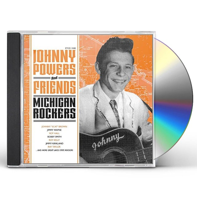 JOHNNY POWERS & FRIENDS: MICHIGAN ROCKERS / VAR CD