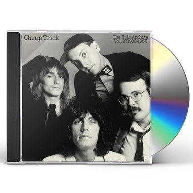 CHEAP TRICK: THE EPIC ARCHIVE 2 (1980-1983) CD