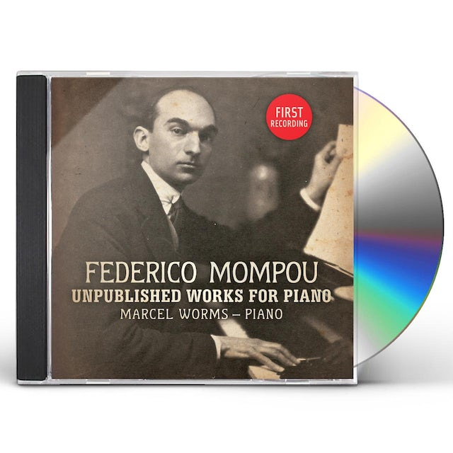 Marcel Worms UNPUBLISHED WORKS FOR PIANO CD