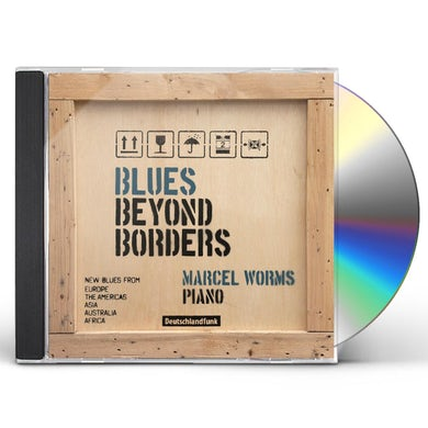 Marcel Worms BLUES BEYOND BORDERS CD