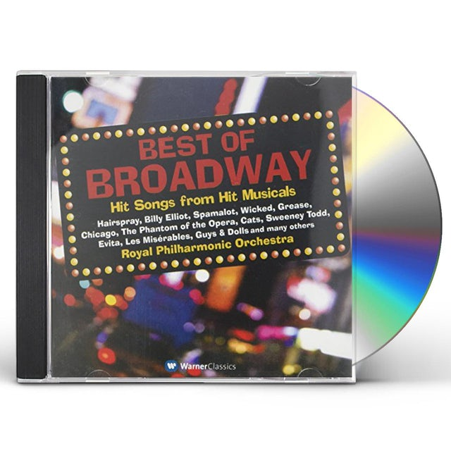 Royal Philharmonic Orchestra BEST OF BROADWAY MUSICALS CD