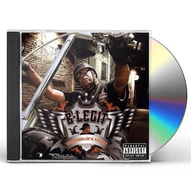 B-Legit THROWBLOCK MUZIC CD