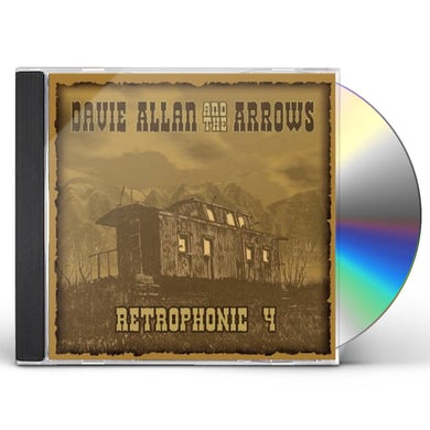 Davie Allan & The Arrows RETROPHONIC 4 CD