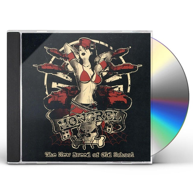 Mongrel NEW BREED OF OLD SCHOOL CD