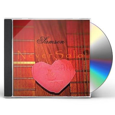 Samson NEVER SOLO CD