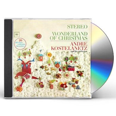 Andre Kostelanetz WONDERLAND OF CHRISTMAS CD