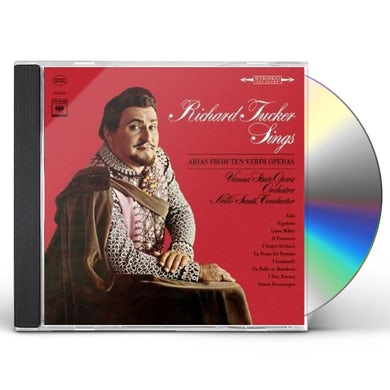 Richard Tucker SINGS VERDI ARIAS CD