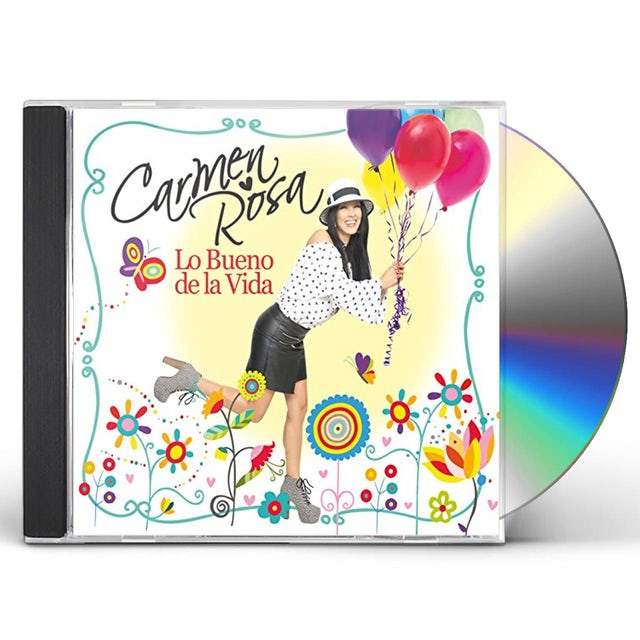 Carmen Rosa LO BUENO DE LA VIDA CD