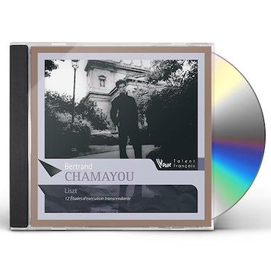 Bertrand Chamayou LISZT: 12 ETUDES D'EXECUTION TRANSCENDA CD