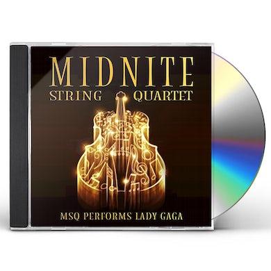 Midnite String Quartet MSQ PERFORMS LADY GAGA (MOD) CD