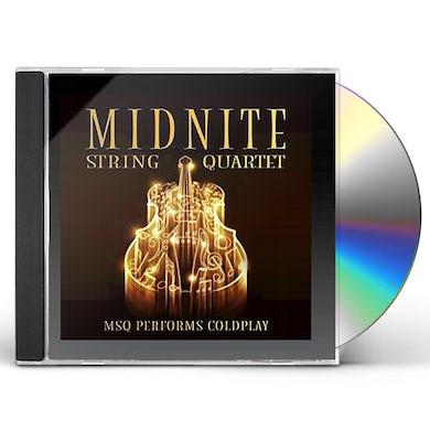 Midnite String Quartet MSQ PERFORMS COLDPLAY CD