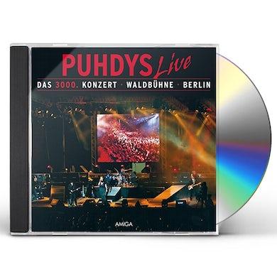 DAS 3000 KONZERT 30 JAHRE PUHDYS 1999 CD