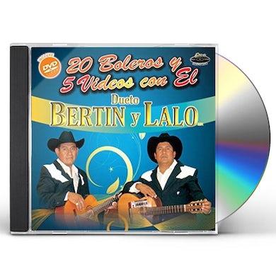 Bertin y Lalo 20 BOLEROS Y 5 VIDEOS CD