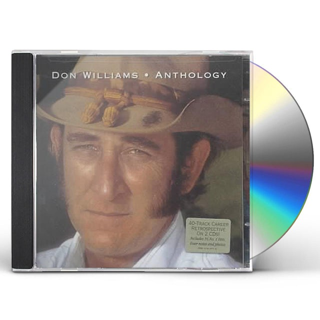 Don Williams ANTHOLOGY CD