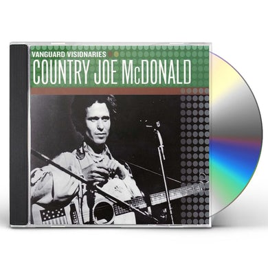 Country Joe McDonald Vanguard Visionaries CD