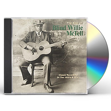 BEST OF BLIND WILLIE MCTELL CD