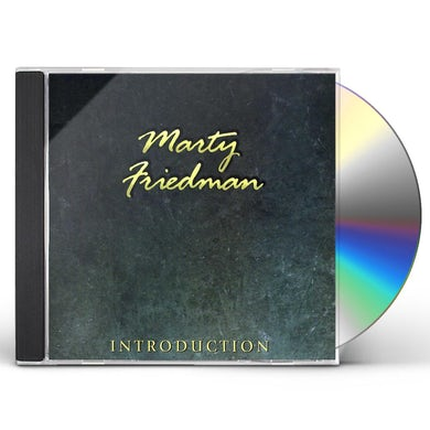Marty Friedman INTRODUCTION CD