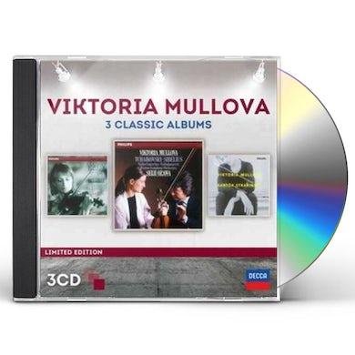 Viktoria Mullova THREE CLASSIC ALBUMS CD
