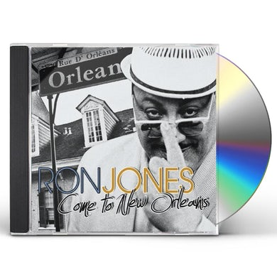 Ron Jones COME TO NEW ORLEANS CD