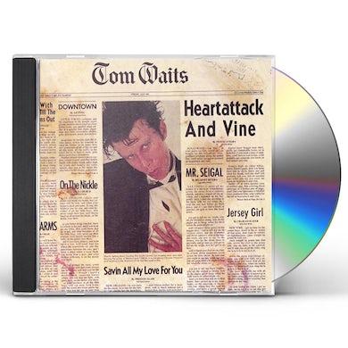 Tom Waits HEARTATTACK & VINE CD