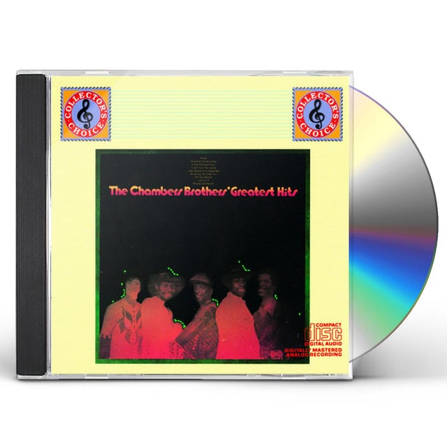 Chambers Brothers GREATEST HITS CD