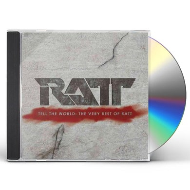 TELL THE WORLD: THE VERY BEST OF RATT CD