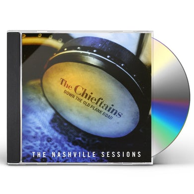 Chieftains DOWN THE OLD PLAN ROAD-NASHVILLE SESSIONS CD