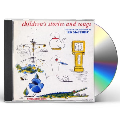 Ed McCurdy CHILDREN'S SONGS AND STORIES CD