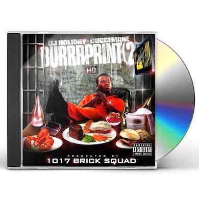 Gucci Mane BURRRPRINT 2 HD CD