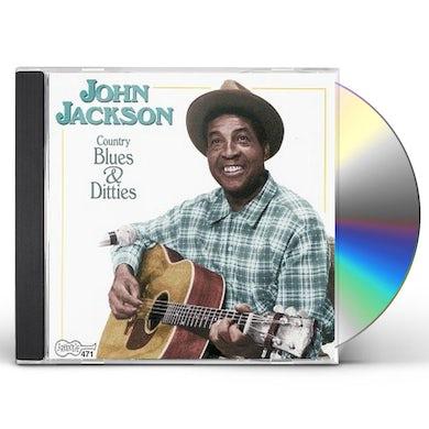 John Jackson COUNTRY BLUES & DITTIES CD