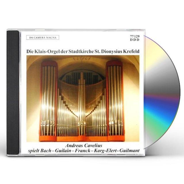 J.S. Bach KLAIS-ORGAN DER STADTKIRCH CD