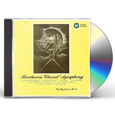 Wilhelm Furtwangler BEETHOVEN: SYMPHONY NO.9 CD