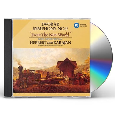 Herbert Von Karajan  DVORAK: SYMPHONY NO.9 'FROM THE NEW WORLD' CD