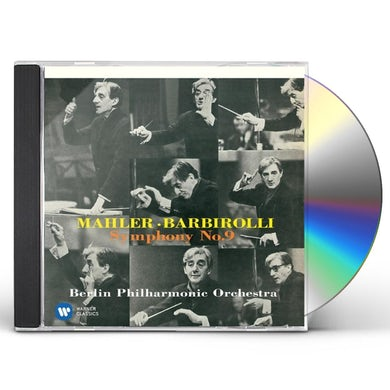 John Barbirolli MAHLER: SYMPHONY NO.9 CD