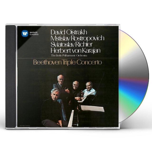Herbert Von Karajan BEETHOVEN: TRIPLE CONCERTO CD