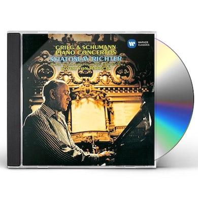 Sviatoslav Richter GRIEG & SCHUMANN: PIANO CONCERTOS CD