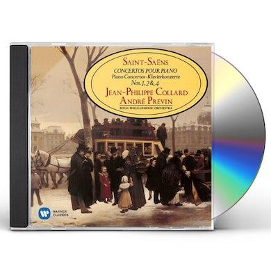 Jean-Philippe Collard SAINT-SAENS: PIANO CONCERTOS NO.1 2 4 CD