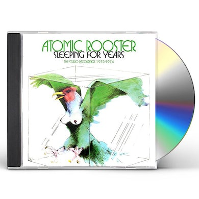 Atomic Rooster SLEEPING FOR YEARS: STUDIO RECORDINGS 1970-1974 CD