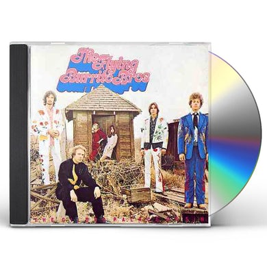 The Flying Burrito Brothers GILDED PALACE OF SIN CD