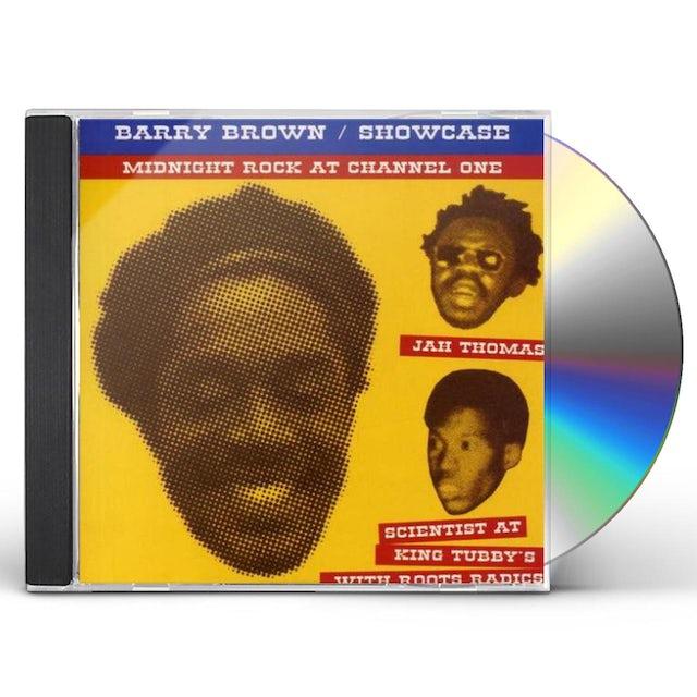 Barry Brown SHOWCASE CD
