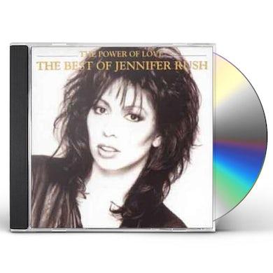 Jennifer Rush POWER OF LOVE: THE BEST OF JENNIFER CD