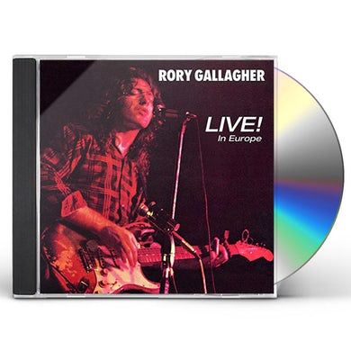 Rory Gallagher LIVE IN EUROPE CD